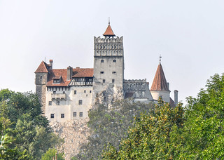 Image of Bran Castle near Bran.