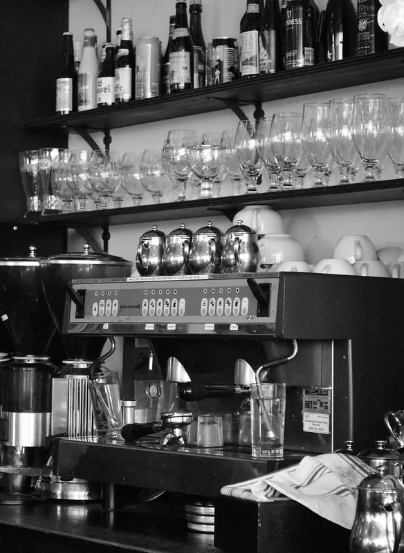 Espresso Machine at Can Can