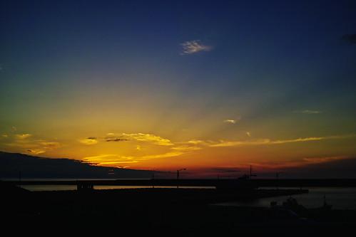 sunset sea japan skies highcontrast sigma niigata 夕暮れ 海 foveon quattro 2014 dp2 x3f ハイコントラスト pwpartlycloudy spp6