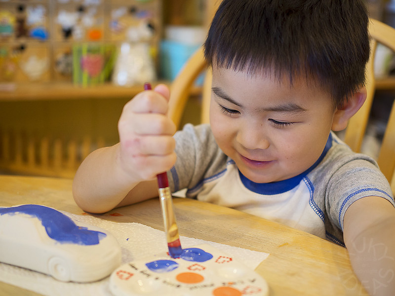 Nathan painting