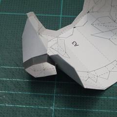 วิธีทำชุดนักบอลฟุตบอลโลก 2014 ทีมเยอร์มันสำหรับโมเดลหมีบราวน์ (FIFA World Cup  Soccer  Germany  Jersey Papercraft Model) 007