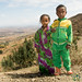 Brother and Sister Meet Us on Road Near Lalibela, Ethiopia