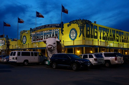 Big Texan Steak Ranch - Amarillo, Texas