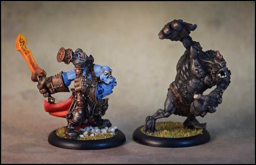 Horgle and Slag Troll
