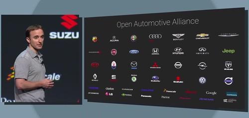 Партнеры Android Auto