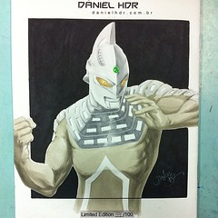 Finished: #ultraseven sketch