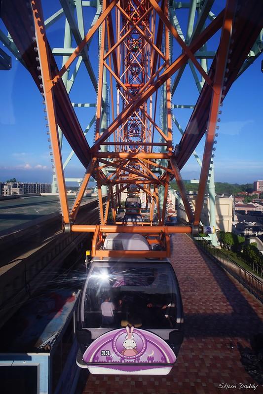Ferris Wheel At Bottom