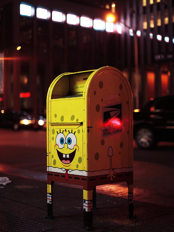 sponge bob mailbox