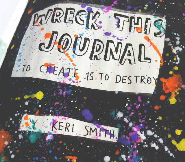 wreck this journal creativity with bee uk lifestyle book blog