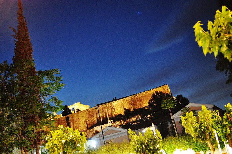 acropolis alight