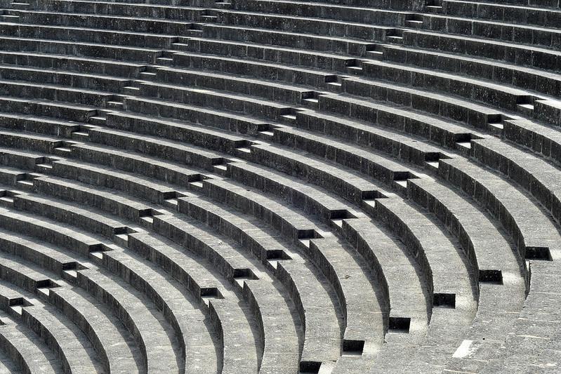 Vaison-la-Romaine Provence Département Vaucluse Archäologie Theater Amphitheater Antike Fotografien Brigitte Stolle