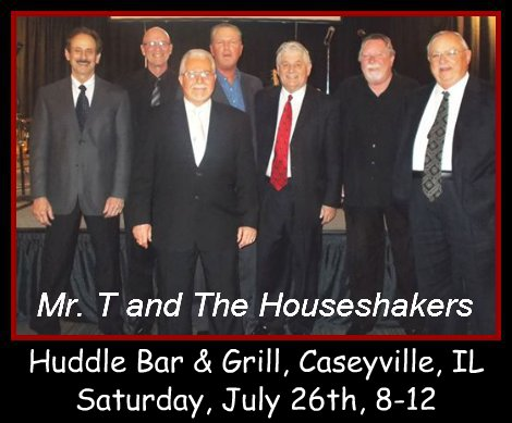 Mr. T and The Houseshakers 7-26-14