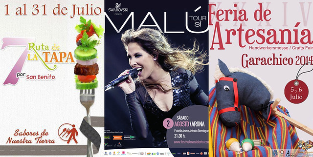 July events Tenerife