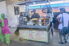 Railway station food stall