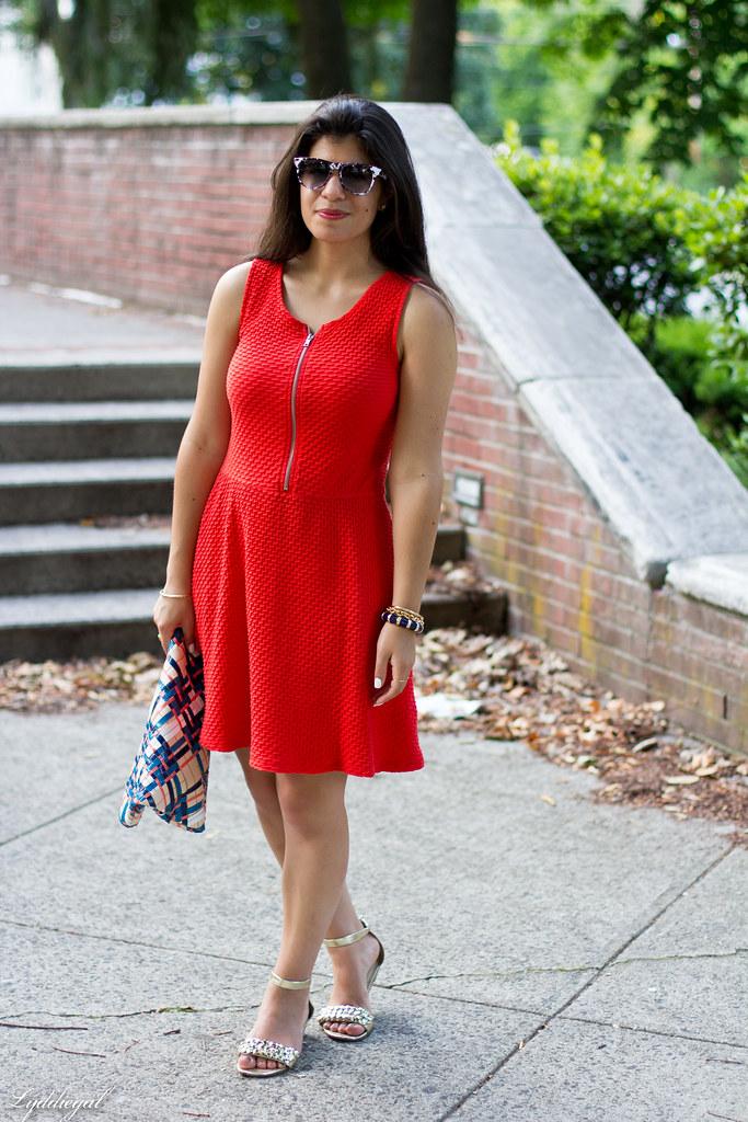 orange dress, woven clutch-4.jpg