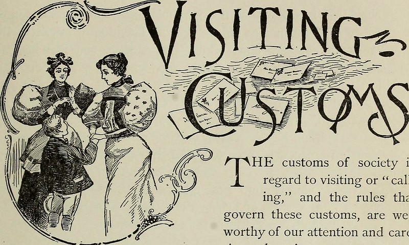 "Image from page 78 of ""Twentieth century culture and deportment, or, The lady and gentleman at home and abroad : containing rules of etiquette for all occasions ..."" (1899)"