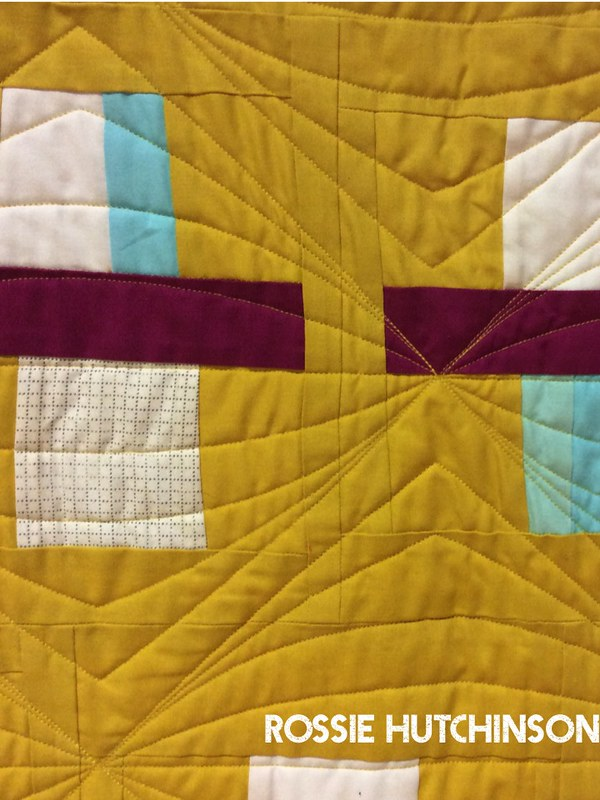 Curried Fraction Quilt by Rossie