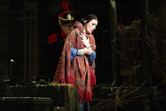 Ermonela Jaho as Mimì in La bohème © ROH / Catherine Ashmore