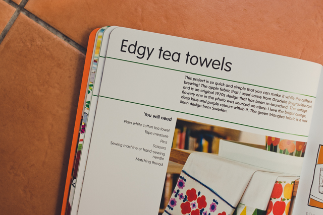 edgy tea towels from fun with fabric by jane foster