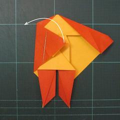 การพับกระดาษเป็นรูปปลาคาร์ฟ (Origami Koi Fish) 018