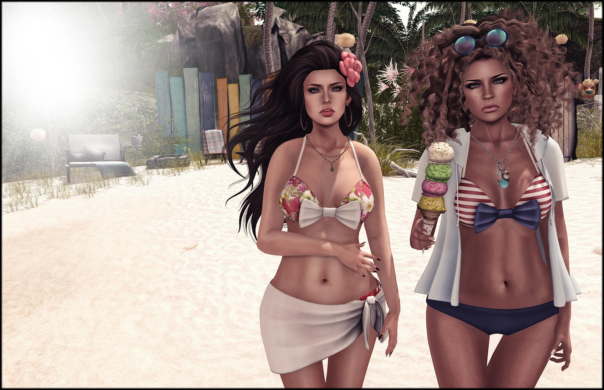 Beach chicas