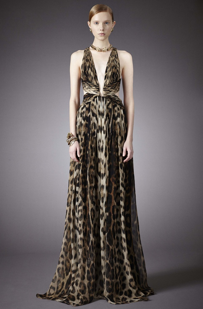 Roberto Cavalli Night Dresses 2014 Roberto Cavalli Pre Collection