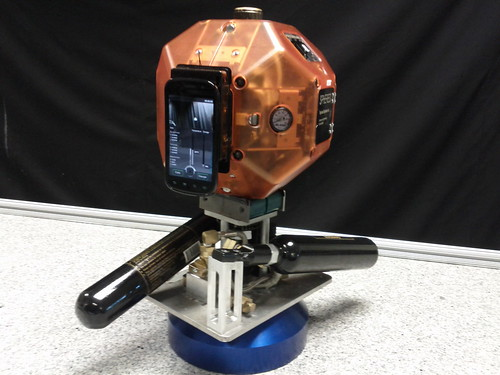 Prototype Robot With Smartphone Mapping