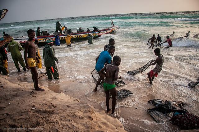 Mauritania - Port de Pêche