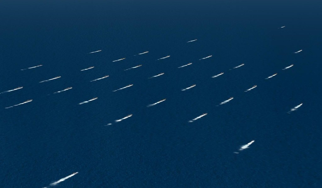 North Atlantic convoy with AI ships | CalClassic Forum