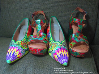 Hand Painted Shoes by Shannon Kringen