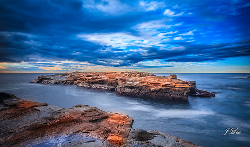 longexposure seascape beach nature rock skyscape landscape australia nsw centralcoast avoca gosford