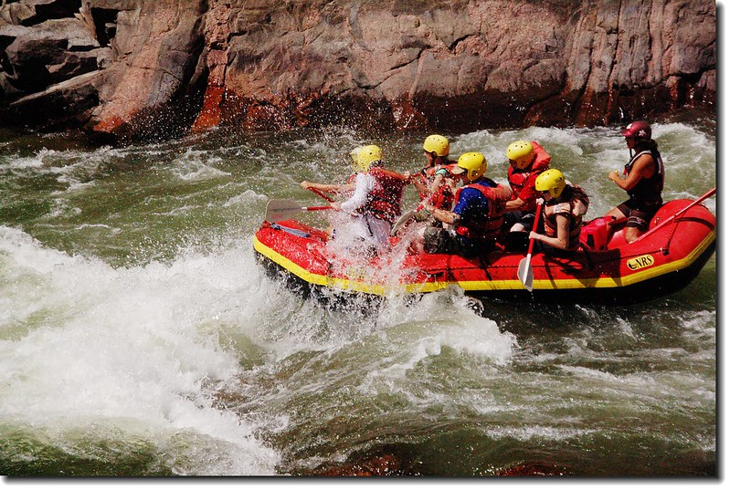 Rafting on the Arkansas River 1