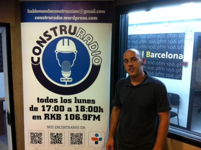 Oriol Martínez, responsable técnico de Lafarga & Herranz