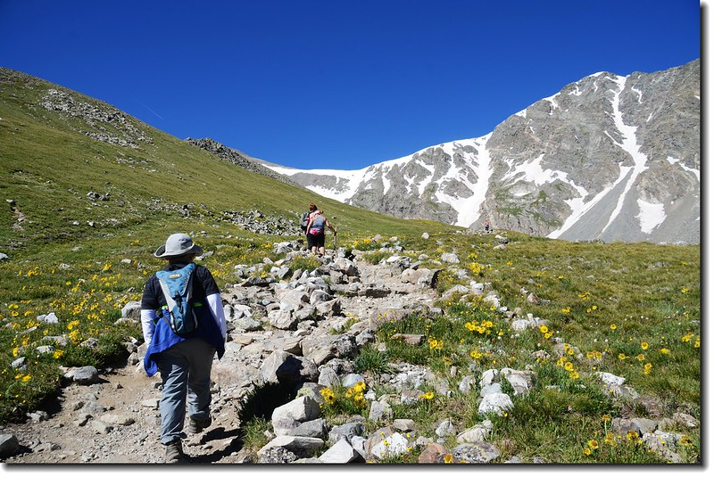 Jacob is on his way to Grays Peak 5