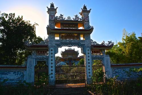 Vietnamese temple in Lumbini
