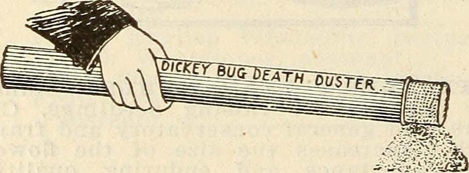 Bug death duster. Figure from the [Internet Archive Book Images](https://www.flickr.com/photos/internetarchivebookimages/14764470974)