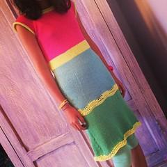 Maty's dress, Profumo di Zucchero, is now on Ravelry:) Il vestito di Maty, Profumo di Zucchero, è ora su Ravelry:)