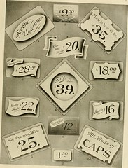 "Image from page 90 of ""Fairchild's rapid letterer and show-card maker, commercial alphabet construction with brush or pen"" (1910)"