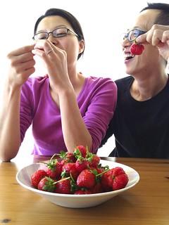 人仰千華草莓