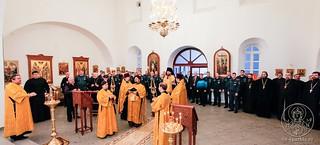 Молебен в Спасском соборе 15