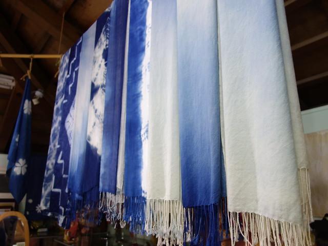 冬季無緣參見的藍染@鳳林鎮花手巾工坊