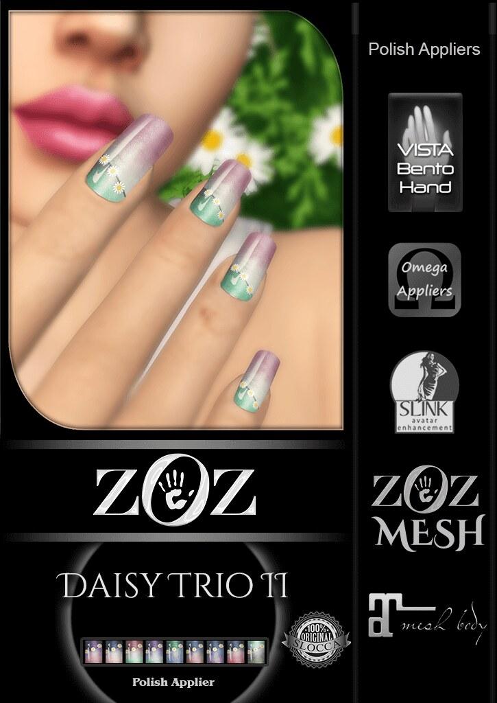 {ZOZ} Daisy Trio II pix L - SecondLifeHub.com