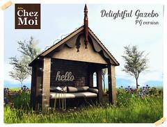 Delightful gazebo CHEZ MOI