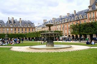 Place des Vosges の画像.
