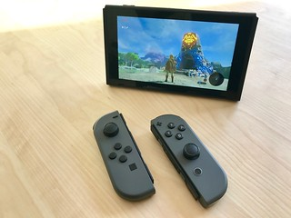 Breath of the Wild on Switch
