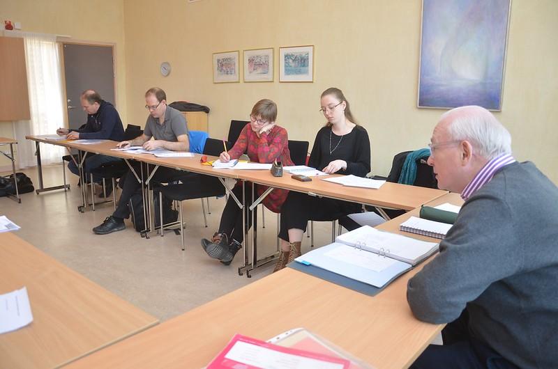 Dirigentkurs under ledning av Torgny Hansson