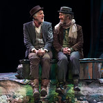 Waiting for Godot - Arvada Center 2017 - Sam Gregory (Vladimir) and Timothy McCracken (Estragon) Photo Credit: M. Gale Photography 2017
