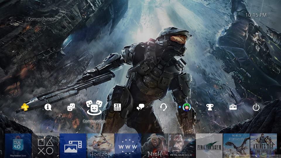 [PS4] Update 4.50 เปลี่ยนธีมให้โดน
