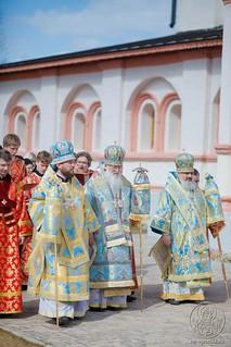 Литургия в Иверском монастыре 690