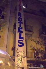 2017_03_24-Manifestación en contra de la proliferación de Hoteles en Poble Nou-Manuel Roldán (10)